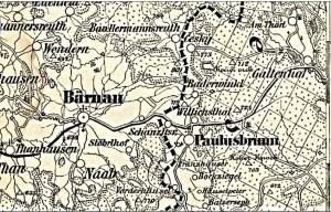 Z historie zaniklé obce Pavlův Studenec (Paulusbrunn)