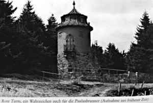 Vyhlídková věž nad Pavlovým Studencem